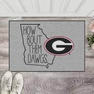 Georgia Bulldogs Southern Style Starter Rug