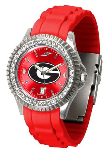 Georgia Bulldogs Sparkle Women's Watch