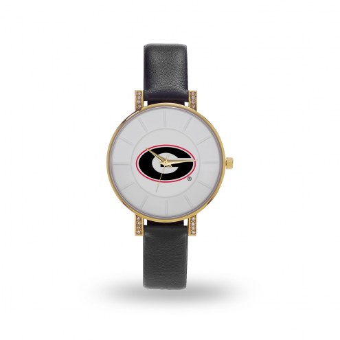 Georgia Bulldogs Sparo Women's Lunar Watch