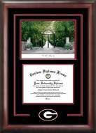 Georgia Bulldogs Spirit Graduate Diploma Frame