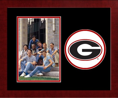 Georgia Bulldogs Spirit Vertical Photo Frame