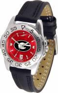 Georgia Bulldogs Sport AnoChrome Women's Watch