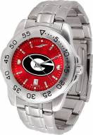 Georgia Bulldogs Sport Steel AnoChrome Men's Watch