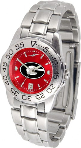 Georgia Bulldogs Sport Steel AnoChrome Women's Watch