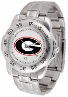Georgia Bulldogs Sport Steel Men's Watch