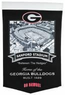 Georgia Bulldogs Stadium Banner