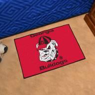 Georgia Bulldogs Starter Rug