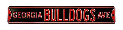 Georgia Bulldogs Street Sign