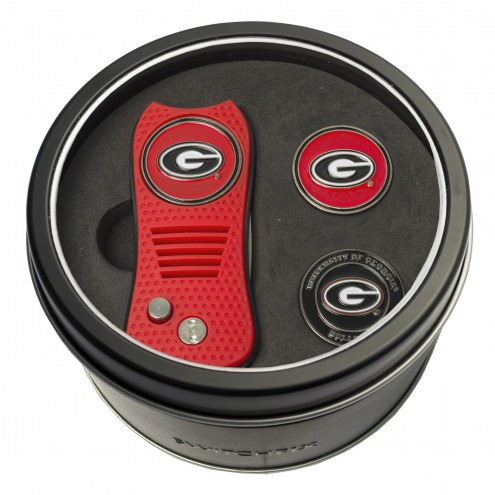 Georgia Bulldogs Switchfix Golf Divot Tool & Ball Markers