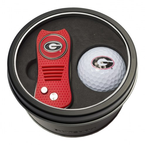 Georgia Bulldogs Switchfix Golf Divot Tool & Ball