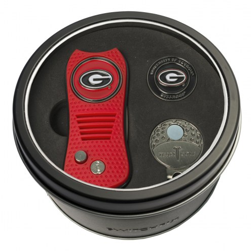 Georgia Bulldogs Switchfix Golf Divot Tool, Hat Clip, & Ball Marker