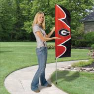 Georgia Bulldogs Swooper Flag