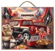 Georgia Bulldogs Tailgate Plaque