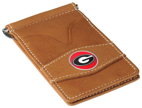 Georgia Bulldogs Tan Player's Wallet