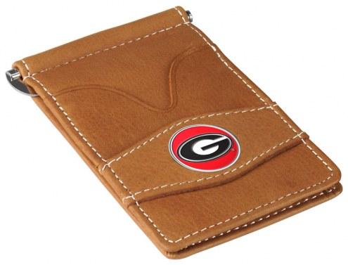 Georgia Bulldogs Tan Player's Wallet