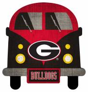 Georgia Bulldogs Team Bus Sign