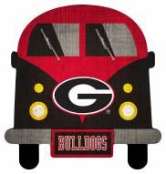 Georgia Bulldogs Team Bus Sign