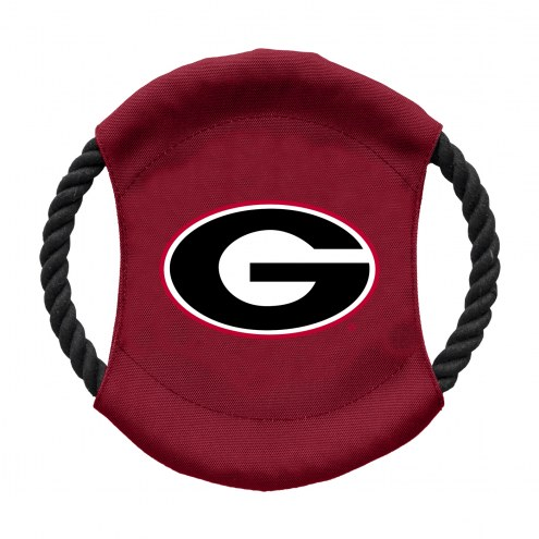 Georgia Bulldogs Team Frisbee Dog Toy