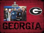 Georgia Bulldogs Team Name Clip Frame