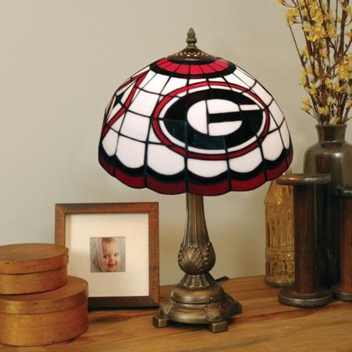 Georgia Bulldogs Tiffany Table Lamp