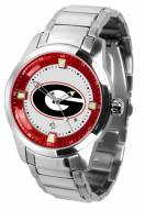 Georgia Bulldogs Titan Steel Men's Watch