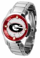 Georgia Bulldogs Titan Steel Men's Watch