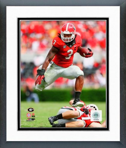 Georgia Bulldogs Todd Gurley Action Framed Photo