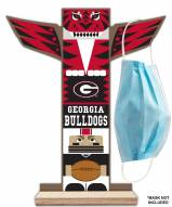 Georgia Bulldogs Totem Mask Holder