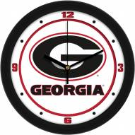 Georgia Bulldogs Traditional Wall Clock