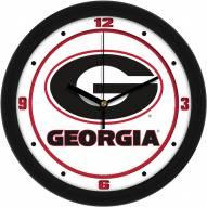 Georgia Bulldogs Traditional Wall Clock