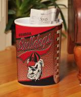 Georgia Bulldogs Trash Can
