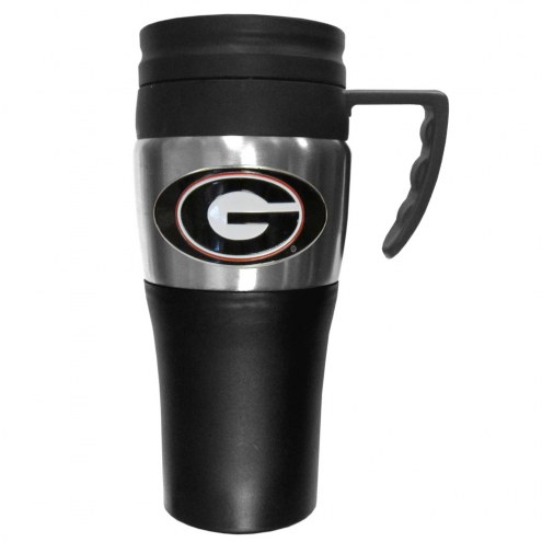 Georgia Bulldogs Travel Mug w/Handle