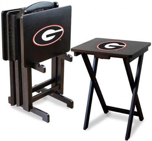 Georgia Bulldogs TV Trays - Set of 4