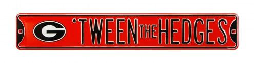 Georgia Bulldogs Tween the Hedges Street Sign