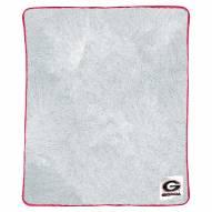Georgia Bulldogs Two-Tone Sherpa Throw Blanket
