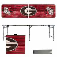 Georgia Bulldogs Victory Folding Tailgate Table
