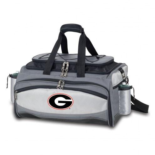 Georgia Bulldogs Vulcan Cooler & Propane Grill