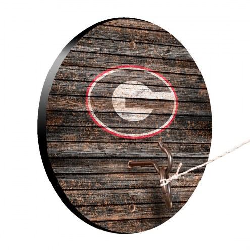 Georgia Bulldogs Weathered Design Hook & Ring Game