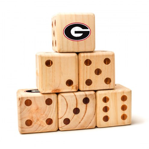 Georgia Bulldogs Yard Dice
