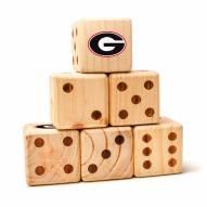 Georgia Bulldogs Yard Dice