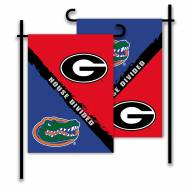 Georgia/Florida House Divided Garden Flag