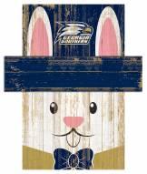 "Georgia Southern Eagles 19"" x 16"" Easter Bunny Head"