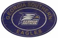 "Georgia Southern Eagles 46"" Heritage Logo Oval Sign"