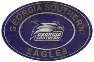 "Georgia Southern Eagles 46"" Heritage Logo Oval Sign"