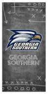 "Georgia Southern Eagles 6"" x 12"" Chalk Playbook Sign"