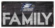 "Georgia Southern Eagles 6"" x 12"" Family Sign"