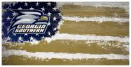 "Georgia Southern Eagles 6"" x 12"" Flag Sign"