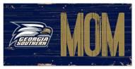 "Georgia Southern Eagles 6"" x 12"" Mom Sign"