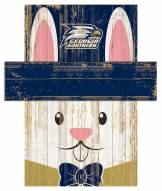 "Georgia Southern Eagles 6"" x 5"" Easter Bunny Head"