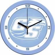 Georgia Southern Eagles Baby Blue Wall Clock